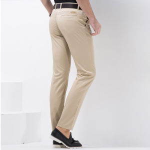 New Men Formal Pants Designs Khaki Pants Trousers pictures & photos