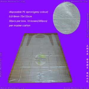 Disposable Transparent PE Apron pictures & photos