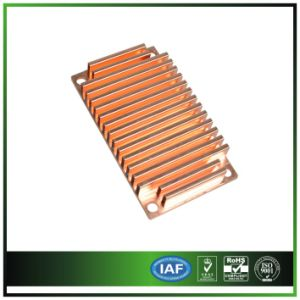 Solder Copper Heat Sink for Server Instrument pictures & photos