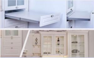 Melamine Kitchen Cabinet with PVC Film Cabinet Door (zc-001) pictures & photos