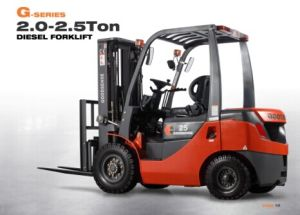 2.5t Diesel Forklift Truck Isuzu Engine with CE pictures & photos