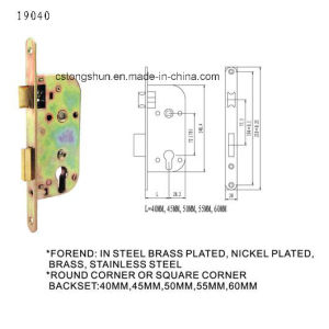French Door Handle Lock Body Mortise Lock pictures & photos