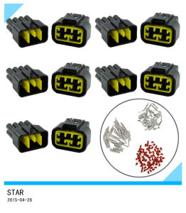 8way 10A 2.3mm Waterproof Car Electrical Wire Sealed Connector Plug pictures & photos