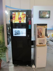 Best Advertisement Drink/Coffee Venidng Machine with LCD Display (LF-306D-32G) pictures & photos