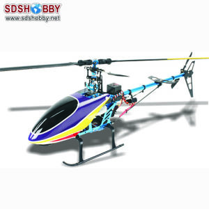 Xyh 450p Electric Helicopter with Fs-Ct6b 2.4G 6 Channel Left Hand Throttle Ready to Fly (Standard Version half metal)