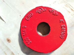 Ductile Iron Grooved Fittings End Cap pictures & photos