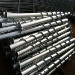 Galvanized Screw Pile for Solar Stand Use pictures & photos