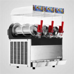 3 TANK SLUSH MACHINE 45L SMOOTHIE 110V AIR COOLING TEMPERATURE RESISTANCE