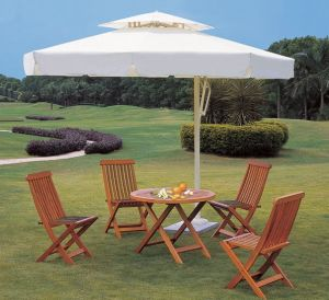 All Weather Solid Wood Folding Patio Dining Garden Outdoor Furniture