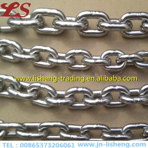 Iron DIN766 Short Galvanized Steel Link Chain pictures & photos