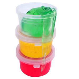 Color Hand Gum Glass Clay Semi-Transparent Stationery