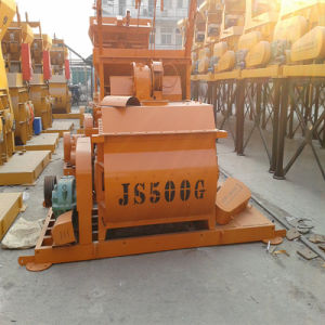 High Quality Concrete Machine/ Js500 Compulsory Concrete Mixer pictures & photos