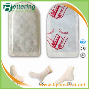 Winter Product Warming Plaster Body Warmer Patch for Foot pictures & photos