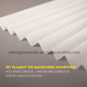 Pet Filament Thermo-Bonded Material Nonwoven pictures & photos