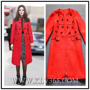 Fashion Women Winter Wool Outdoor Jacket Coat
