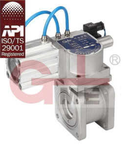 Pneumatic Fuel Tanker Actuator Ball Valve (QF02FQA-50/65/80) pictures & photos