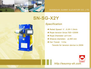 Elevator Over Speed Governor (SN-SG-X2Y) pictures & photos