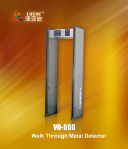Multi Zone Walk Through Metal Detector Vo-600 pictures & photos