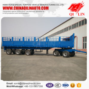 Manufacturer 70tons Load Stake Semi Truck Trailer pictures & photos