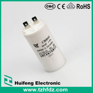Cbb60 Motor Run Capacitor with Pins Series pictures & photos