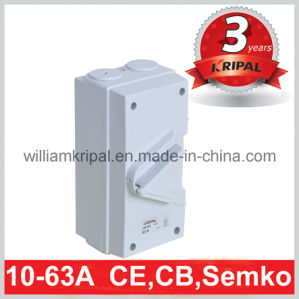IP66 63A 4p Weather Protected Isolator Switch pictures & photos