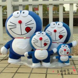 Popular Childhood Cartoon Laughing Style Doraemon Plush Soft Doll Toy (HD-PL-24)