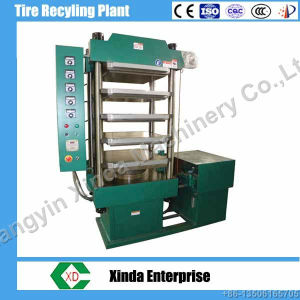 Rubber Floor Tile Vulcanizing Press Machine pictures & photos