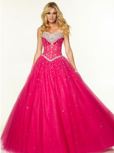 Crystal Beading Cocktail Bridesmaid Party Prom Evening Dresses Pd9702 pictures & photos