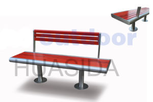 Park Fixed Bench with Back and Legs Assembled pictures & photos