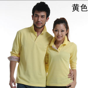 China Supplier High Quality Long Sleeve Polo Shirt pictures & photos