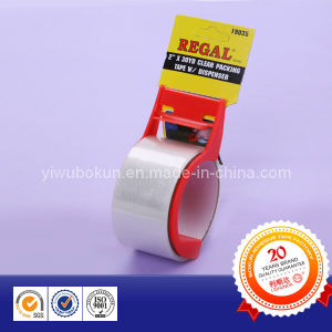 Clear Office Packing Tape with Hand Cutter pictures & photos