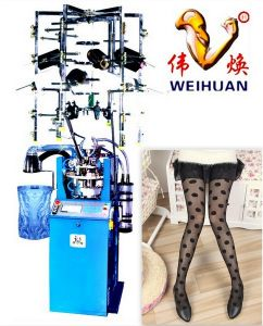 Weihuan, Wh-E7 Computerized Jacquard Silk Stocking Knitting Machine (4 inch) pictures & photos