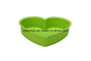 Heart Silicone Cake Mould pictures & photos