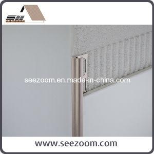 Straight Aluminum Ceramic Tile Trim