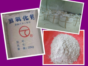 Bleaching powder Hydrated Lime Calcium Hydroxide Manufacturers pictures & photos