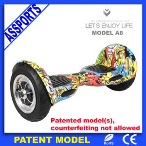 Smart 2 Wheel Self Balancing Electric Scooter with LED Lights pictures & photos