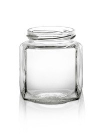 270ml Oval Hex Jar for Jam with 63tw Finish pictures & photos