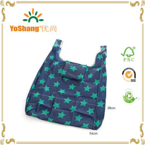 Fashion Pattern Portable Foldable Shopping Bag pictures & photos