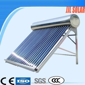 Pressurized Stainless Steel Heat Pipe Vacuum Tube Solar Hot Panel Collector Water Heater pictures & photos