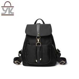 Good Quality Fashion Multifuntion Nylon Lady Backpack pictures & photos