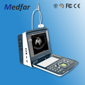 Portable Vet Color Doppler Ultrasound MFC6100V pictures & photos