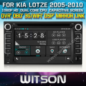 Witson Car DVD with GPS for KIA Lotze (W2-D8527K) pictures & photos