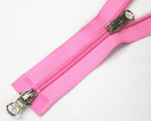 No. 4 Nylon Zipper with Metal Slider pictures & photos