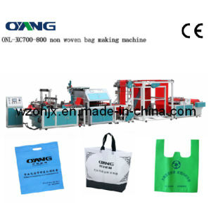 Onl-Xc700-800full Automatic Non-Woven Ultrasonic Bag Making Machine with Handle pictures & photos