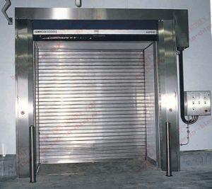 Stainless Steel Roller Shutter Garage Door (BHS-SD01) pictures & photos