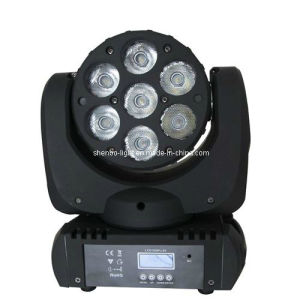 LED 7PCS*10W Moving Head Wash with 15 Channel