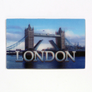 Promotional Custom PP Lenticular Fridge Magnet pictures & photos