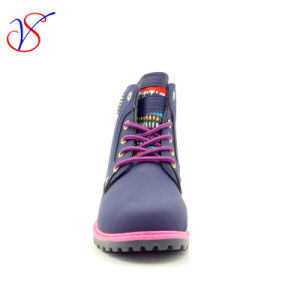 2016 New Style Injection Man Women Safety Working Work Boots Shoes for Job (SVWK-1609-014 BLUE) pictures & photos