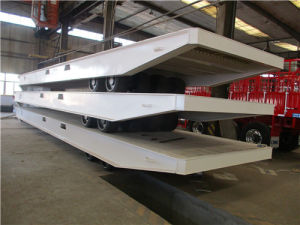60t Flatbed RO-RO Trailer pictures & photos