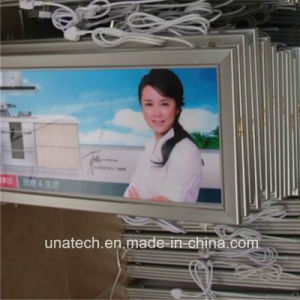 Media Promotional Snap Aluminum Frame LED Super Thin Advertising Light Box pictures & photos